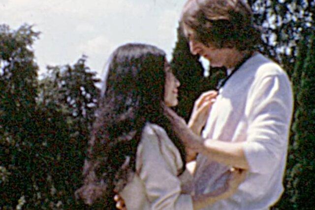 Джон Леннон и Йоко Оно — в новом видео на песню «Look at Me». Эти кадры еще никто не видел