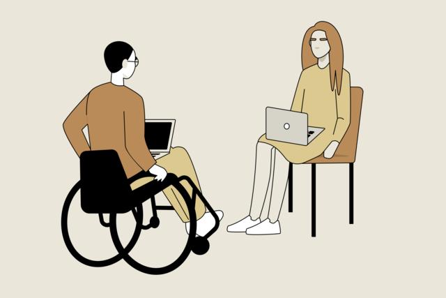 Как человеку с инвалидностью найти работу? Даже лучшим специалистам это не всегда легко (но реально). Инструкция MeduzaCare