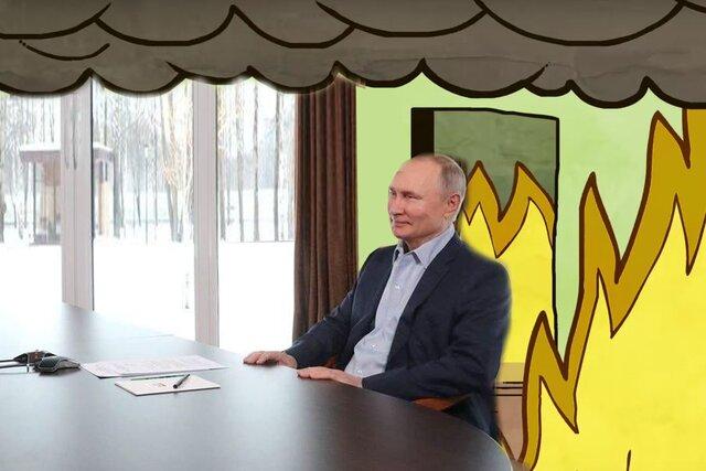 «Дом свободный, живите, кто хотите». Путин все объяснил: дворец не его, снимок в бассейне — фотошоп! Как говорится, спасибо за мемы