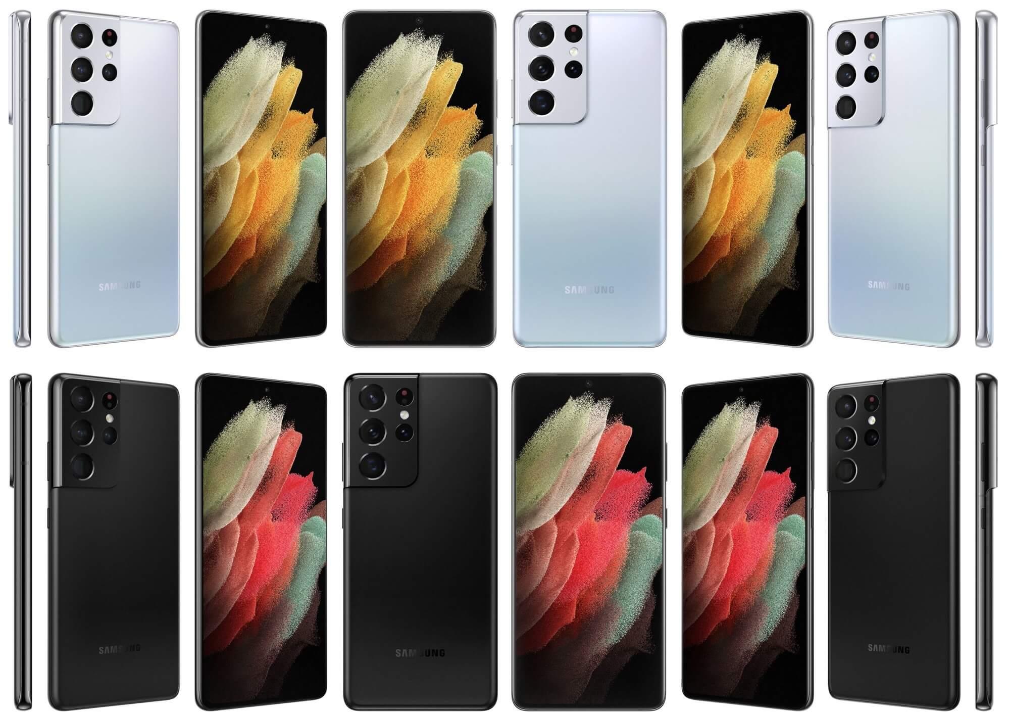 Официальные изображения Samsung Galaxy S21 утекли в сеть
