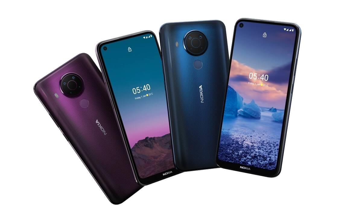 Смартфон Nokia 5.4 с процессором Snapdragon 662 вышел в России