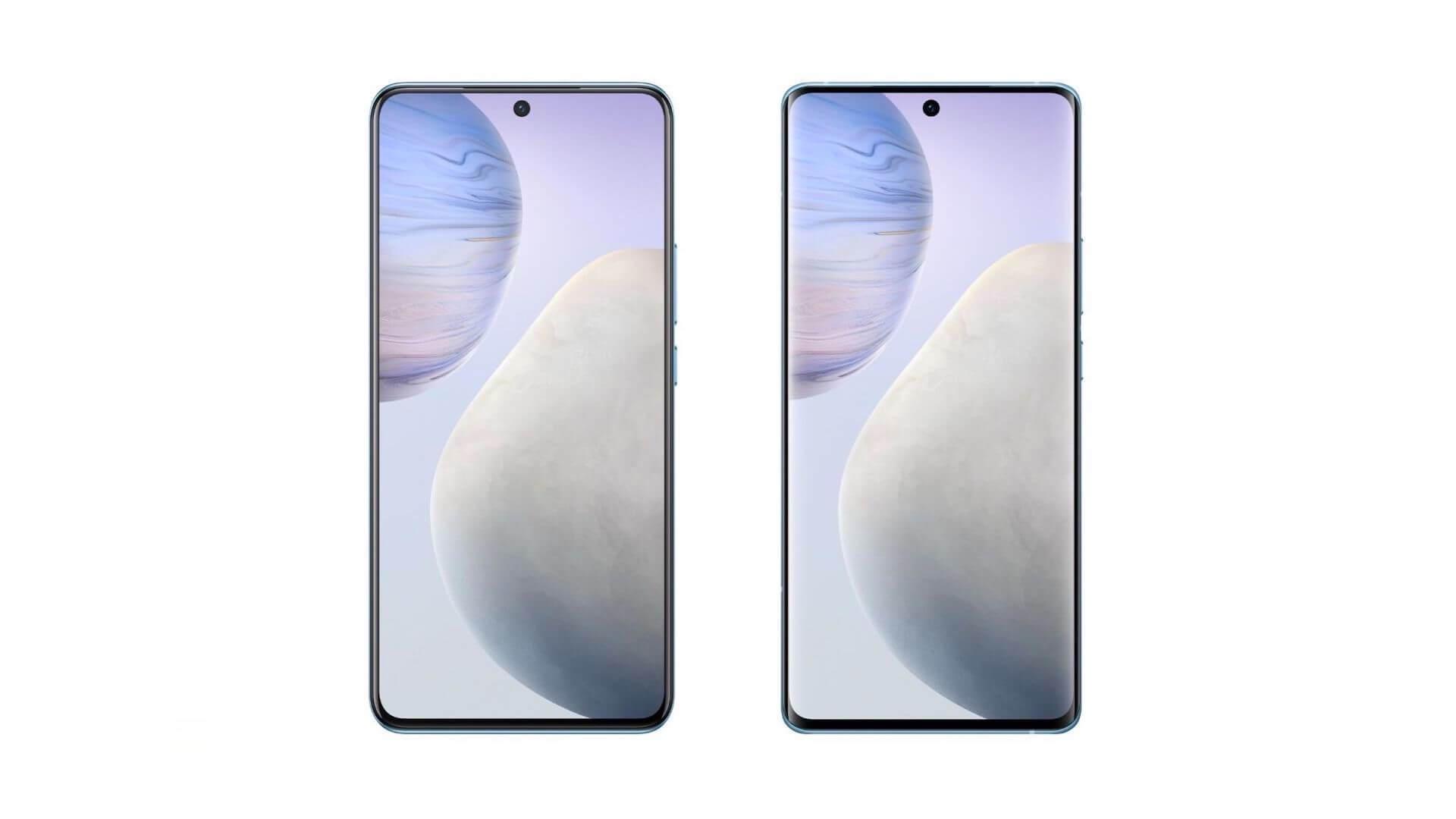 Дизайн Vivo X60 и X60 Pro раскрыт на официальных изображениях