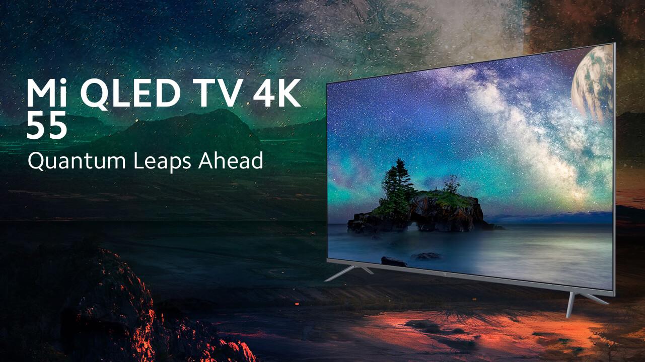 Xiaomi выпустила 55-дюймовый 4K-телевизор с матрицей QLED