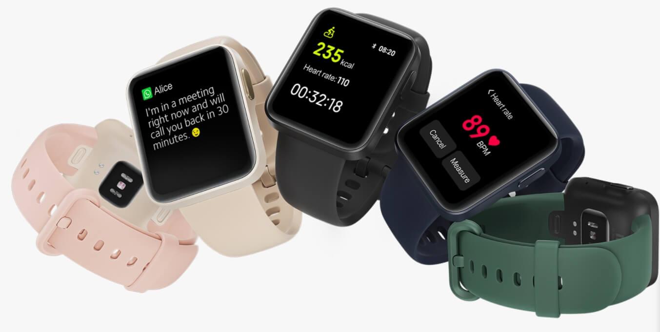 Xiaomi представила бюджетные «умные» часы Mi Watch Lite