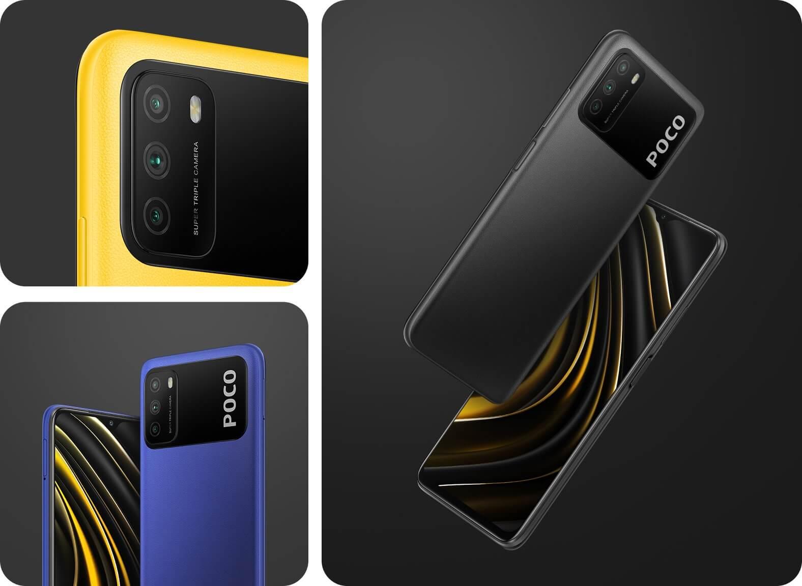 Xiaomi представила Poco M3 с батареей на 6000 мАч в России