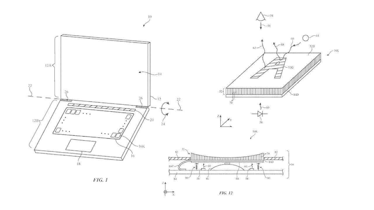 Apple запатентовала клавиатуру с OLED-дисплеями на клавишах