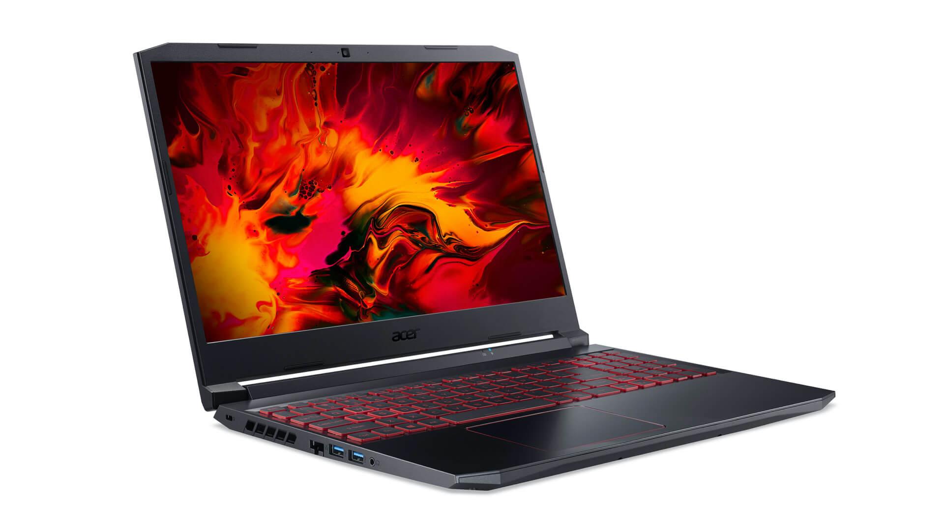 Acer обновила игровые ноутбуки Nitro 5, добавив в них CPU Intel Tiger Lake-H
