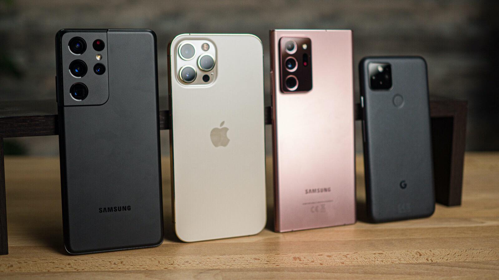 Samsung по-прежнему продаёт больше всех смартфонов, Apple на втором месте
