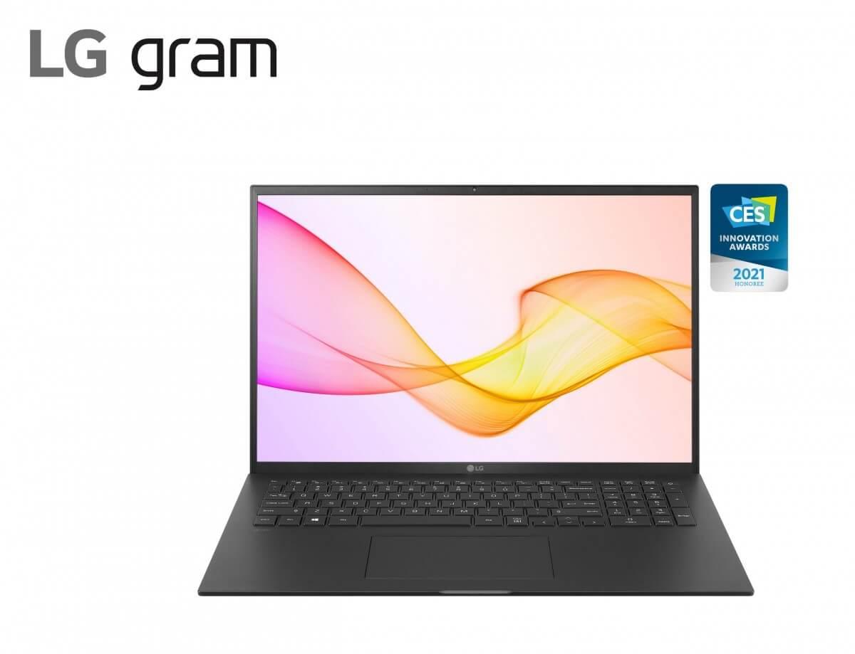 LG представила ноутбуки Gram 2021 на базе процессоров Intel 11-го поколения