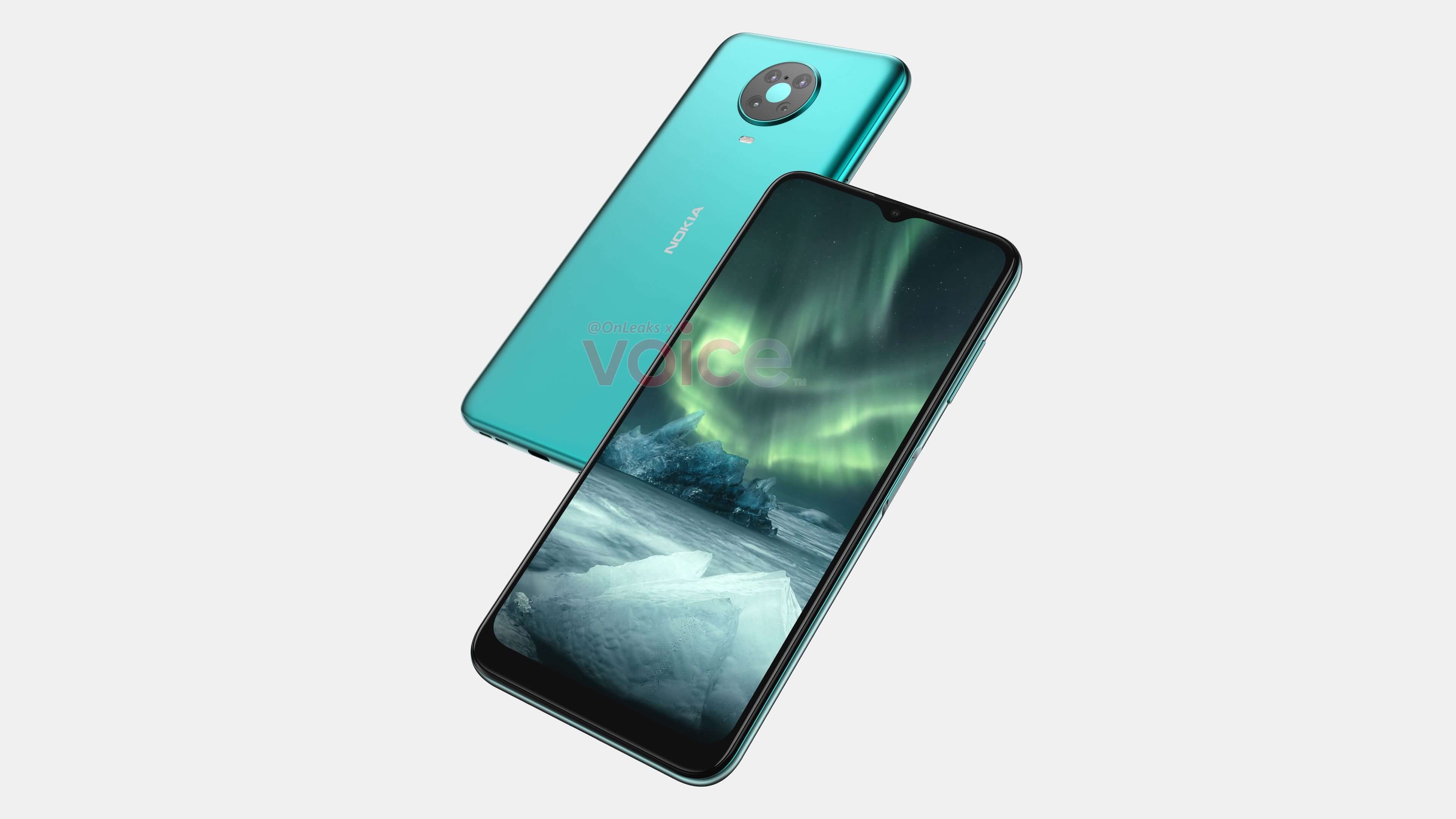 Дизайн следующего смартфона Nokia раскрыт на рендерах
