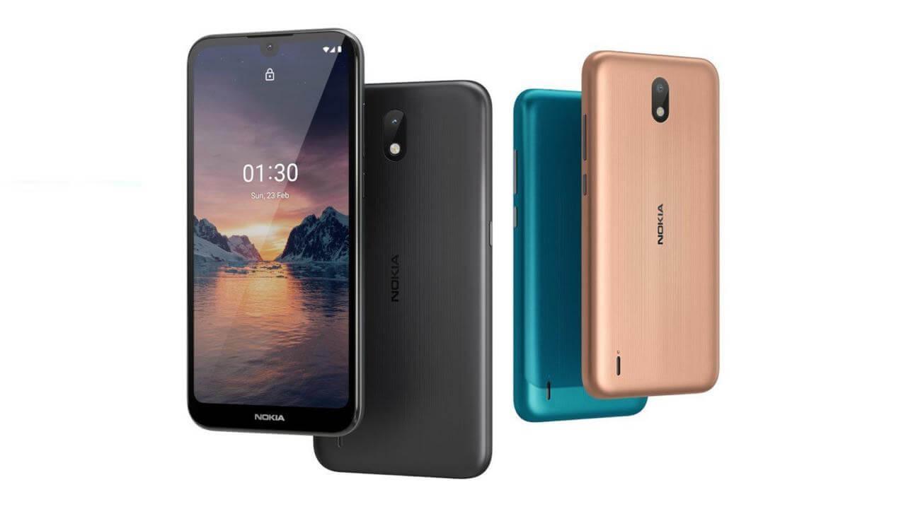Раскрыты характеристики и цена бюджетного Nokia 1.4