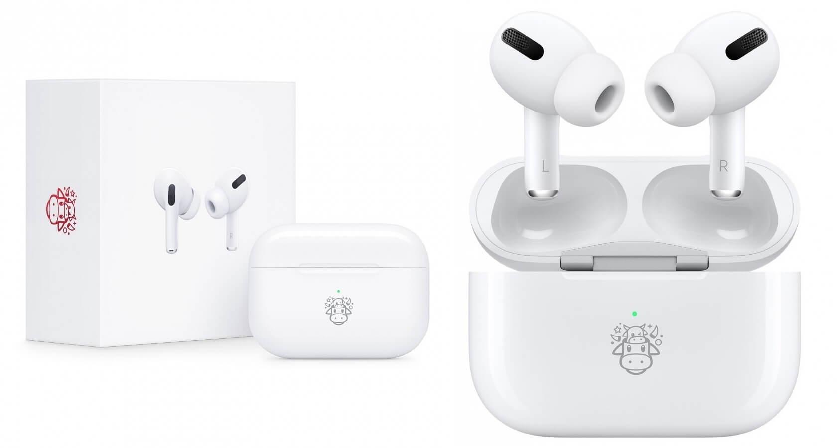 Apple выпустила новогоднюю версию AirPods Pro
