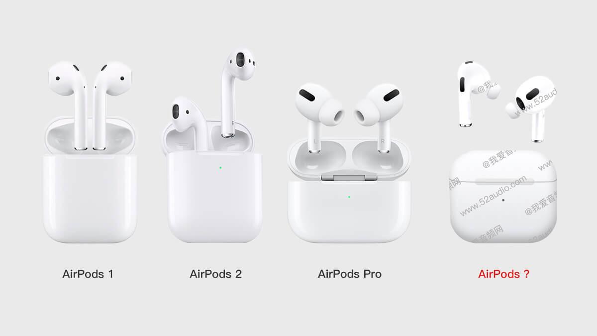 AirPods 3 появились на первом «живом» фото