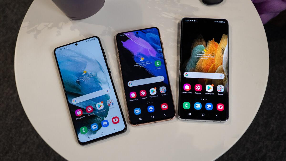 Камеры прошлогодних флагманов Samsung получат функции из Galaxy S21