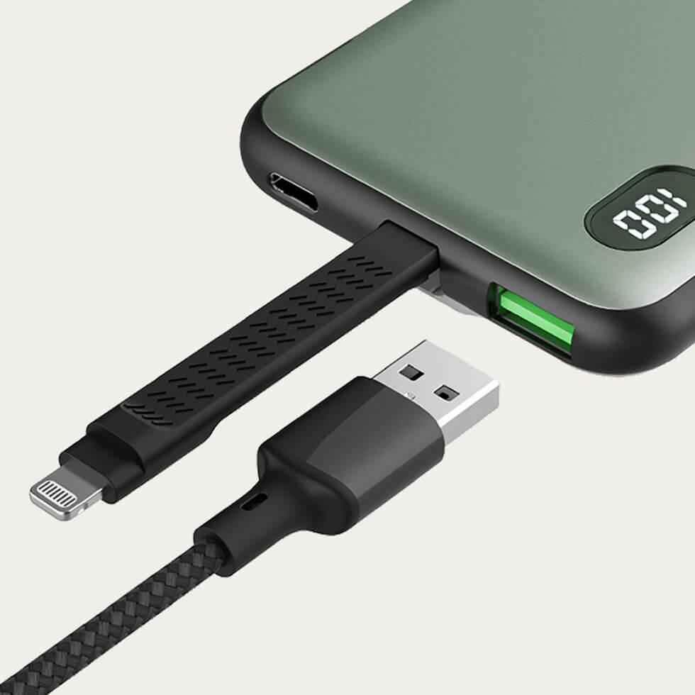 Xiaomi представила пауэрбанк на 10 000 мАч с портами Lightning и USB-C