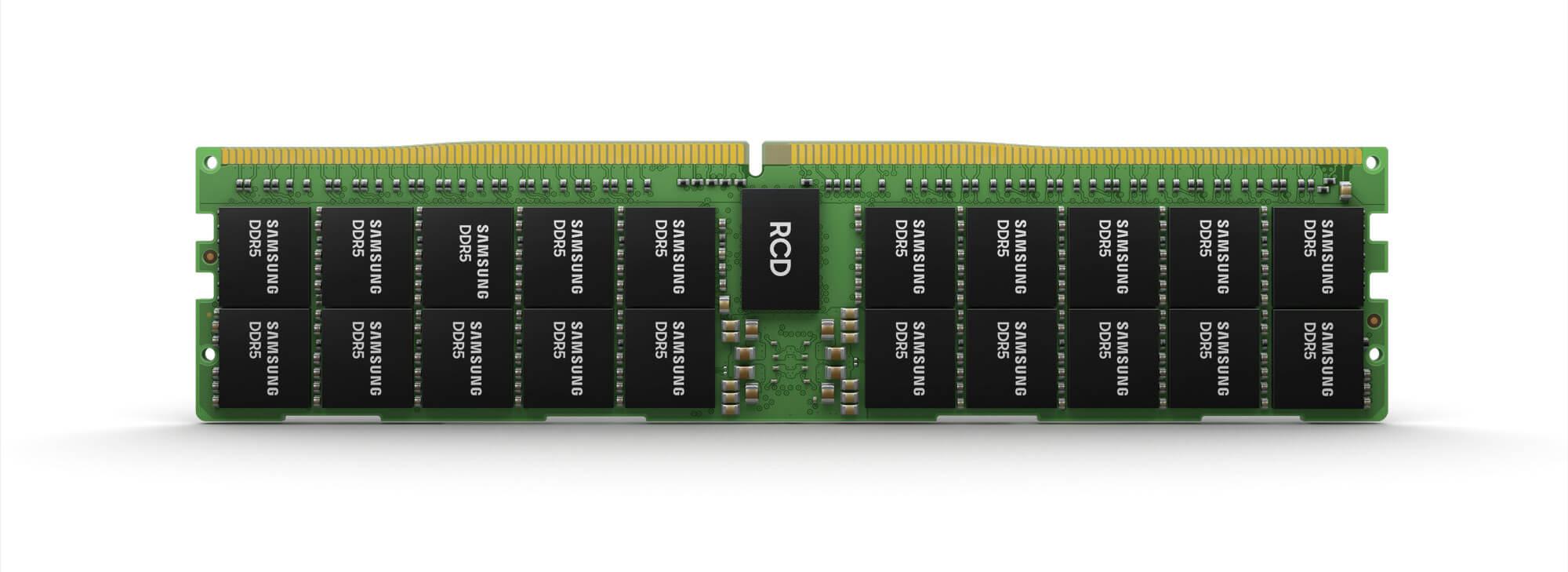 Samsung представила модуль ОЗУ DDR5 на 512 ГБ