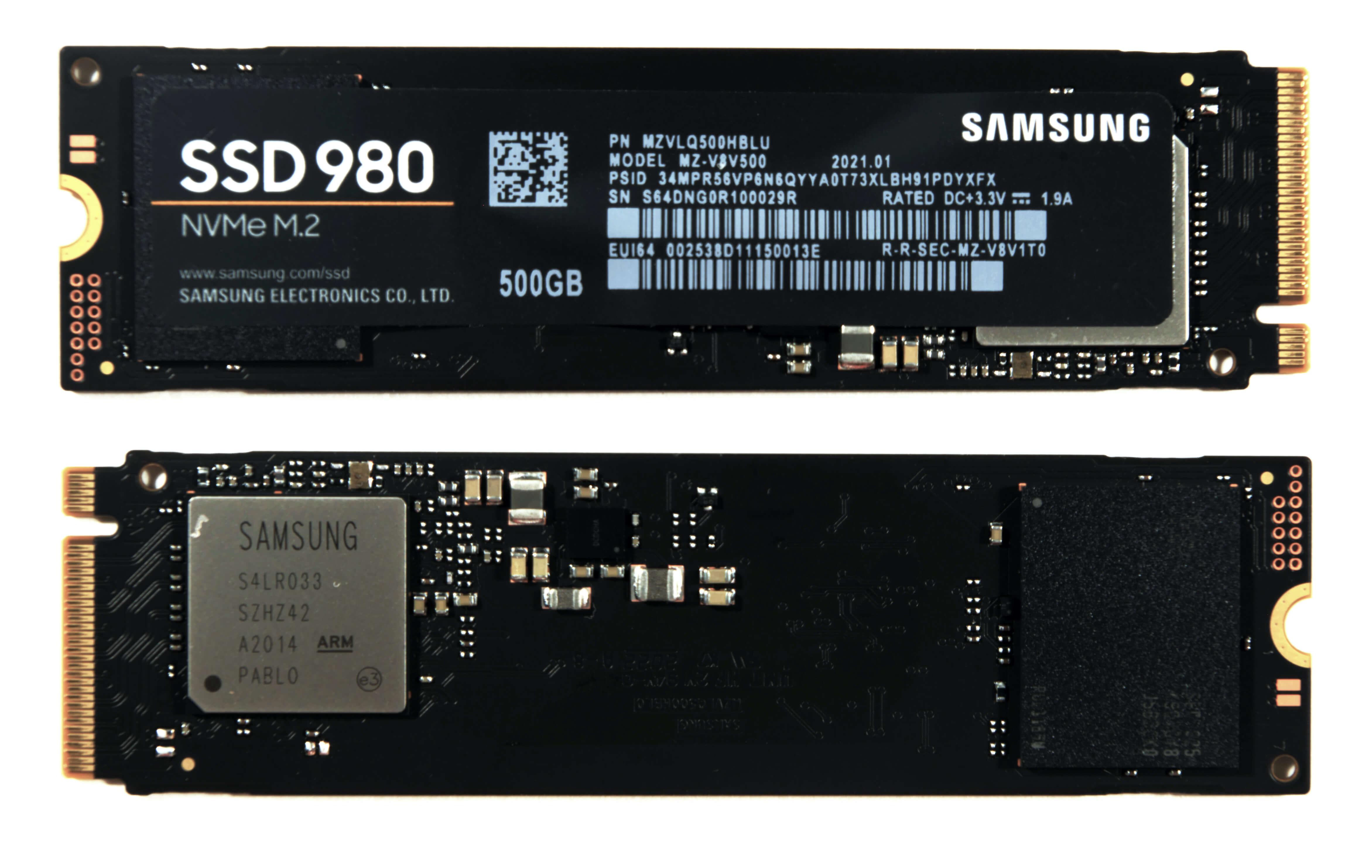 Представлен SSD-накопитель Samsung 980 NVMe – 1 ТБ за $130