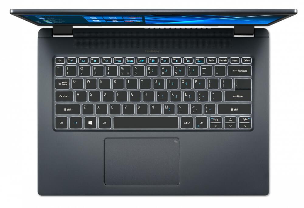 Acer представила в России ноутбук TravelMate P4
