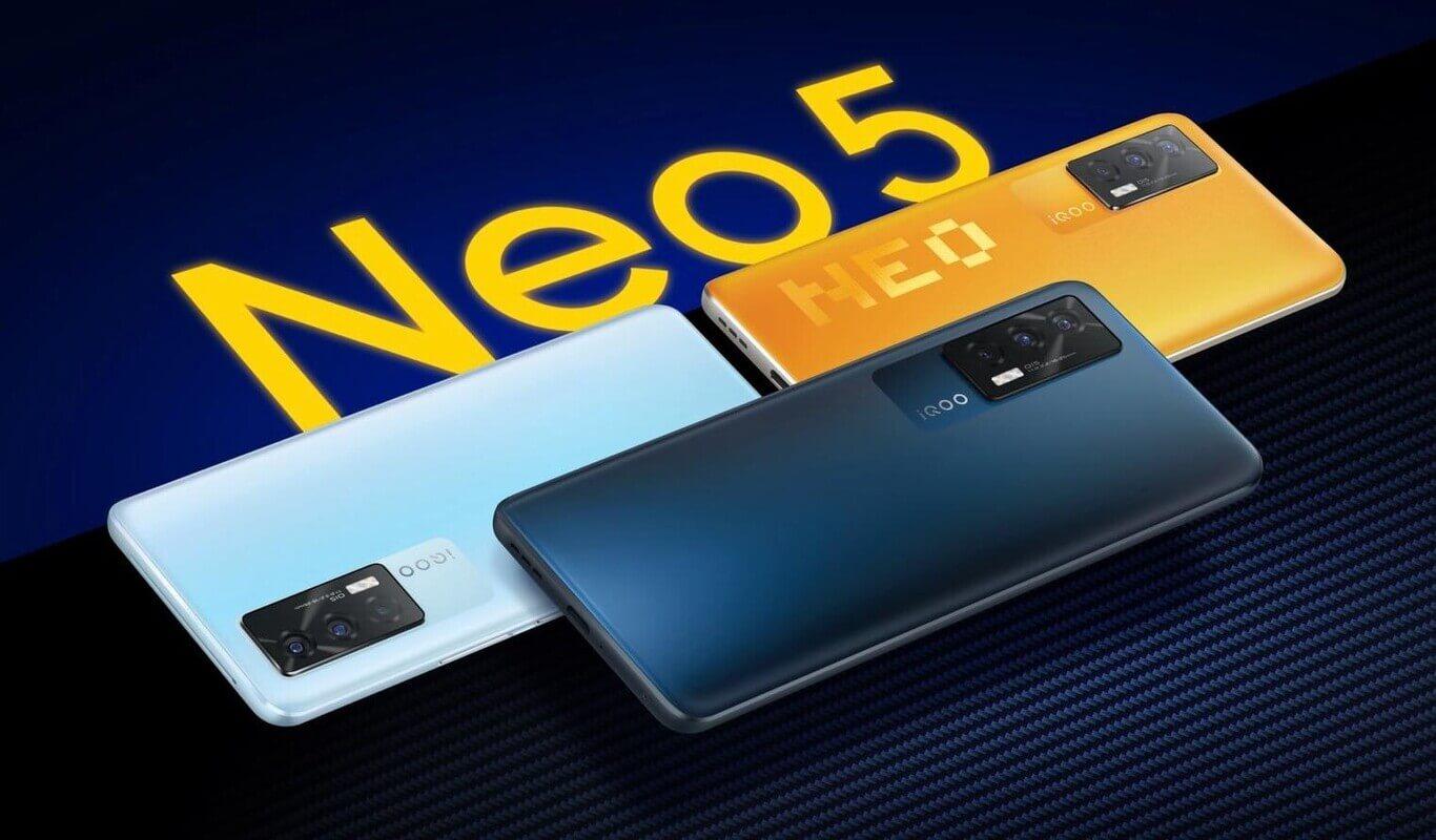 Представлен iQOO Neo 5 5G – Snapdragon 870, 12 ГБ, 120 Гц и 66 Вт