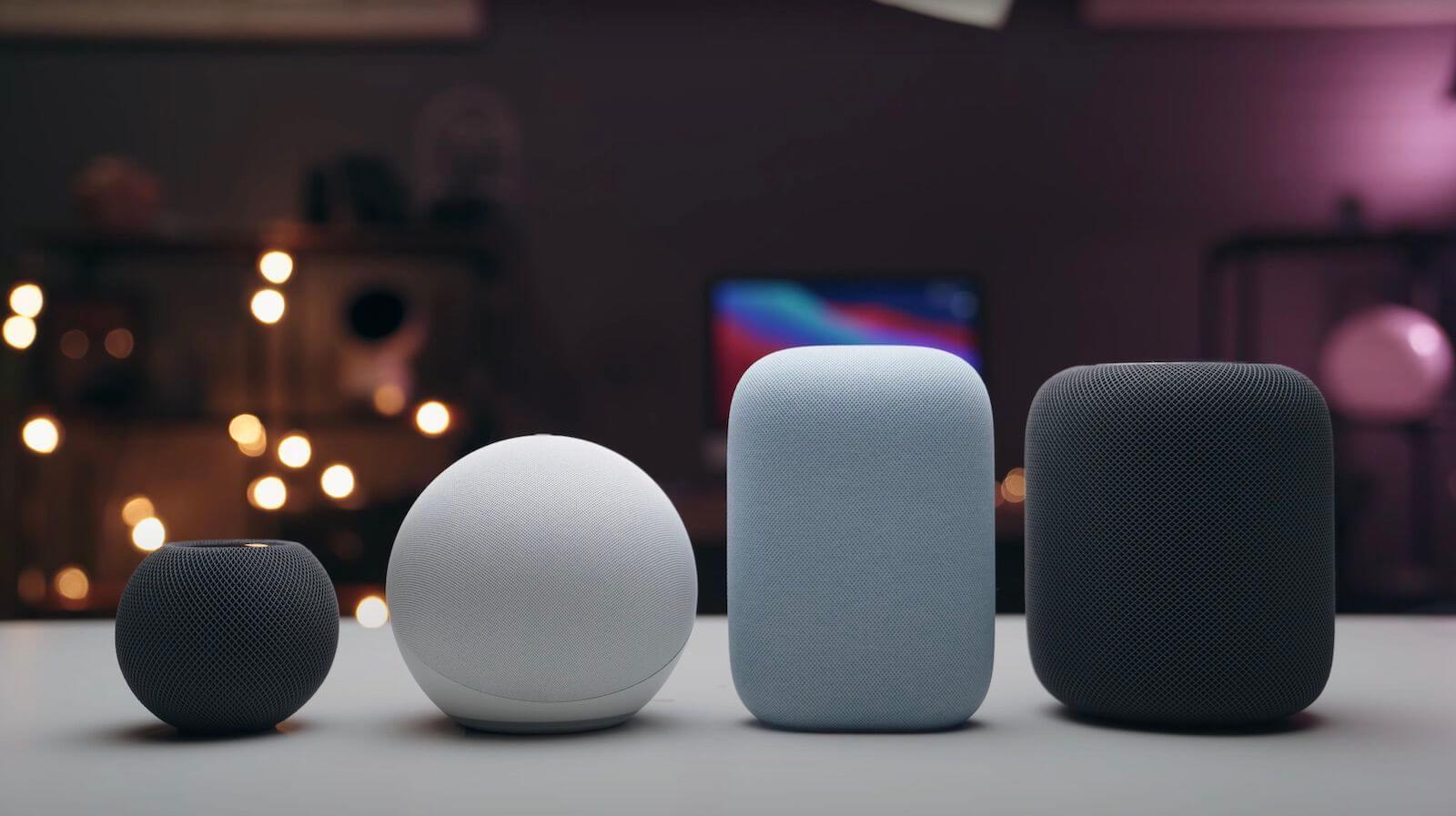 Apple сняла с производства смарт-колонку HomePod
