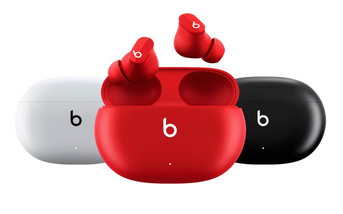 Beats Studio Buds – первые TWS-наушники бренда с шумоподавлением и автономностью до 24 часов