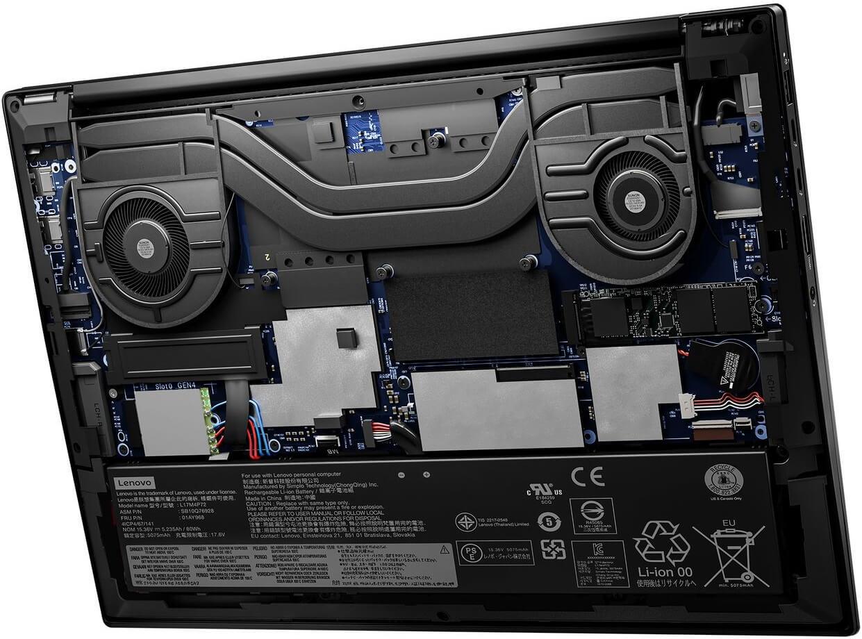Lenovo представила 5G-ноутбук ThinkPad X1 Extreme с Core i9 и RTX 3080