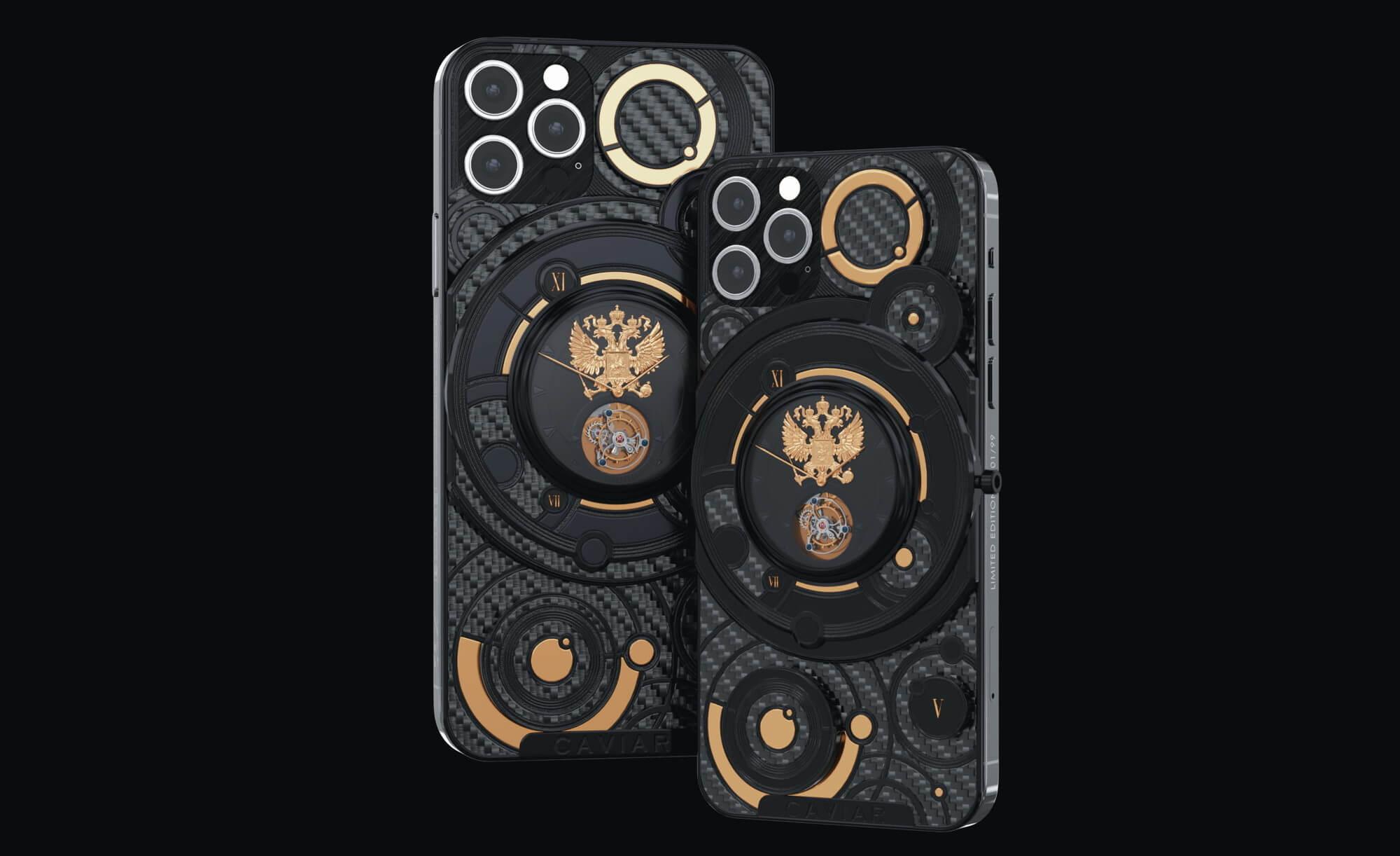 Caviar выпустила iPhone 12 с гербом России за 1 375 000 рублей