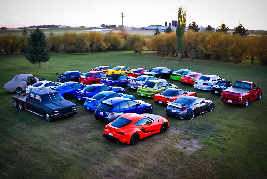 Посмотрите на самую большую в мире частную коллекцию автомобилей из «Форсажа»