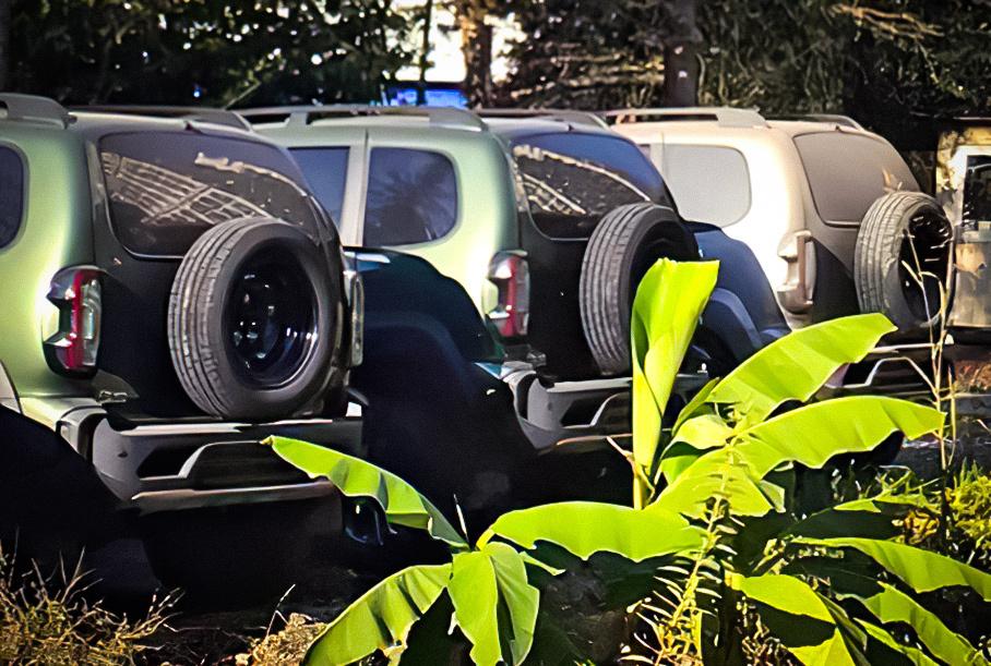 Обновлённая Lada Niva: новая фотография