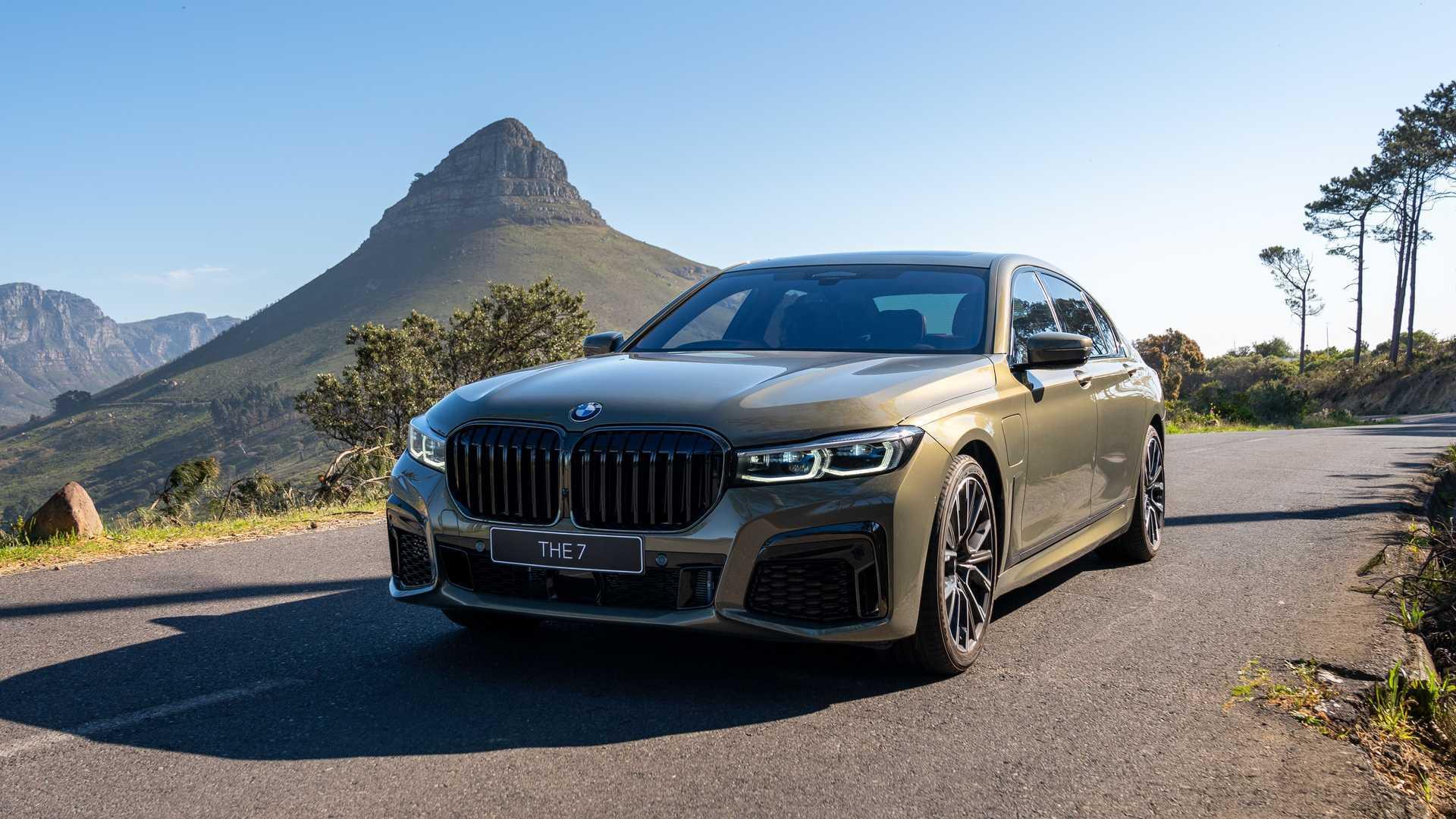 Стали известны характеристики электрической BMW 7-Series