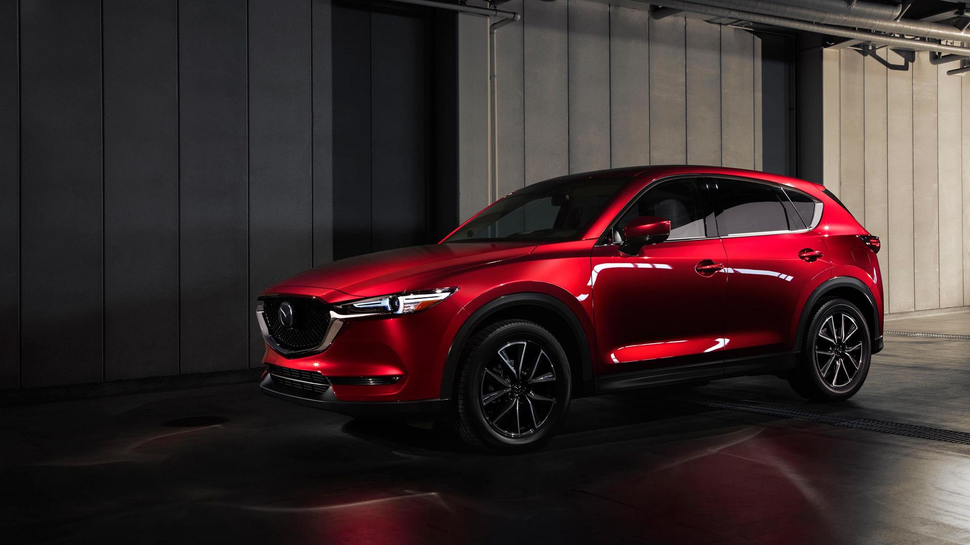 Mazda CX-5 может стать заднеприводным кросс-купе