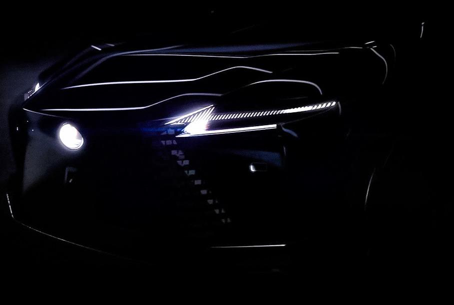 Lexus намекнул на дизайн будущих электрокаров