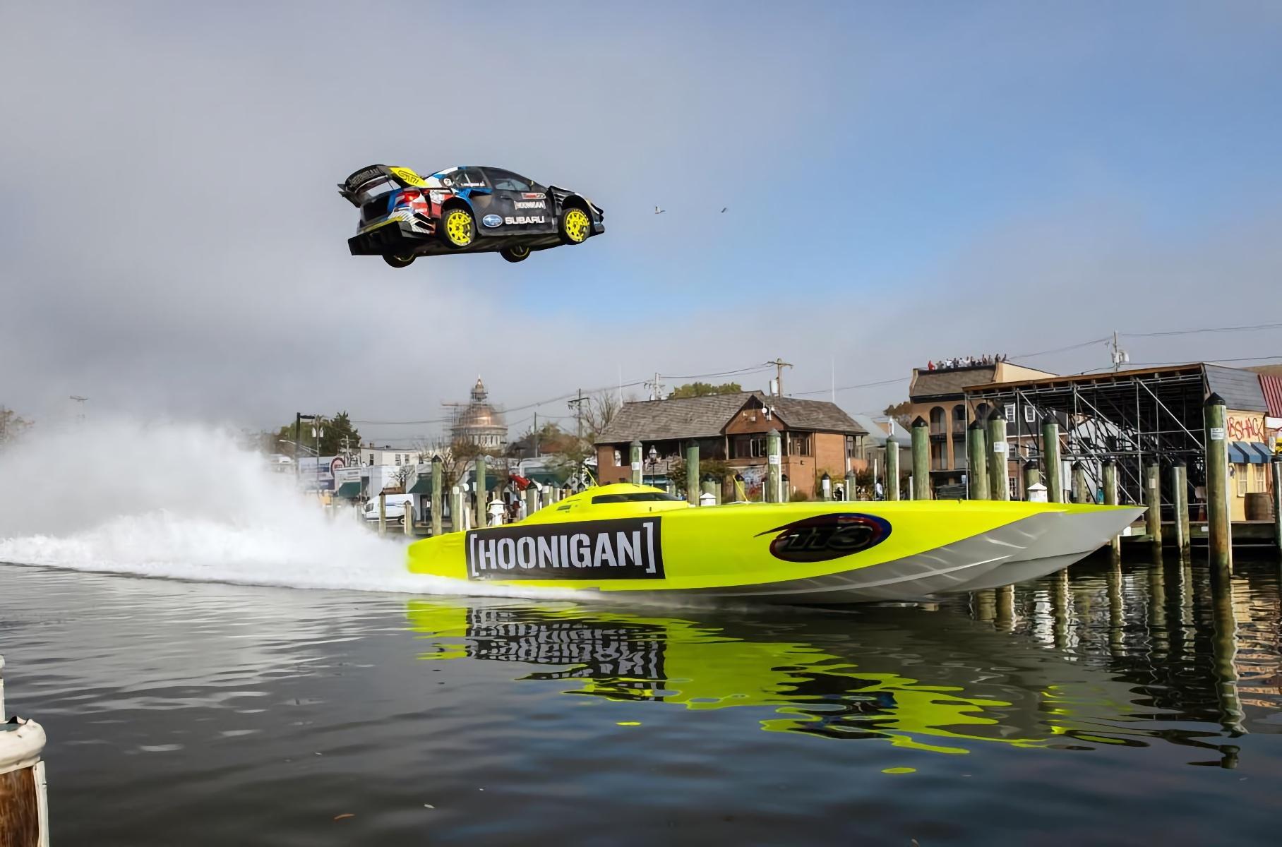 Летающий Subaru и очень много дрифта: вышла новая серия «Джимханы»