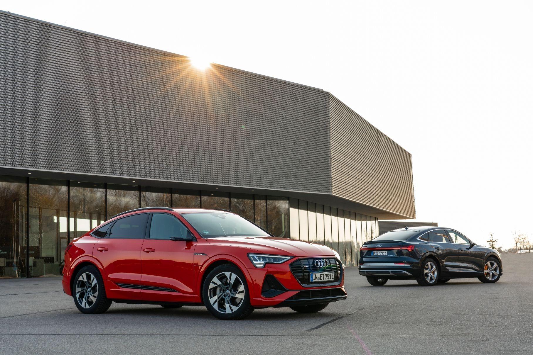 Кросс-купе Audi e-tron Sportback может появиться в России