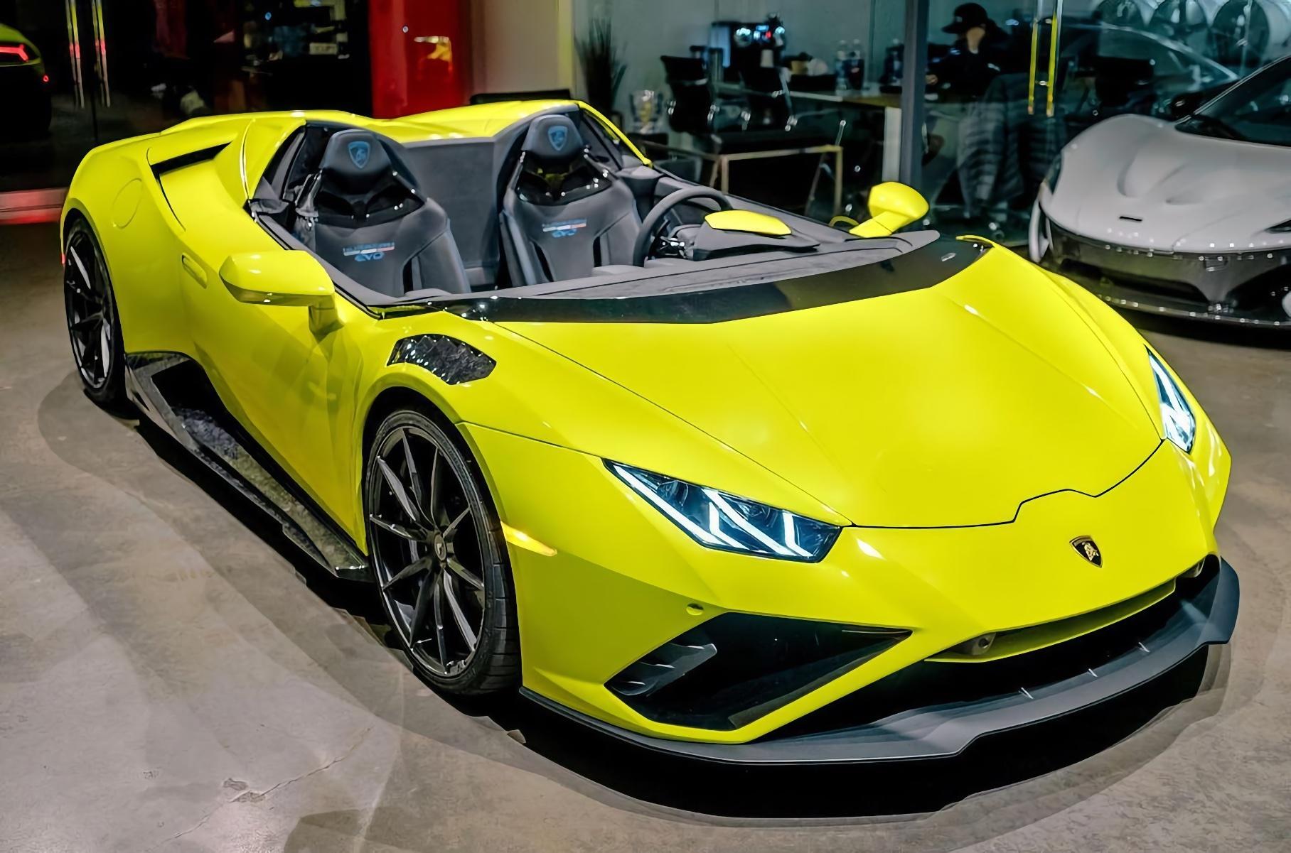 Lamborghini Huracan Evo превратили в экстремальный суперкар без лобового стекла