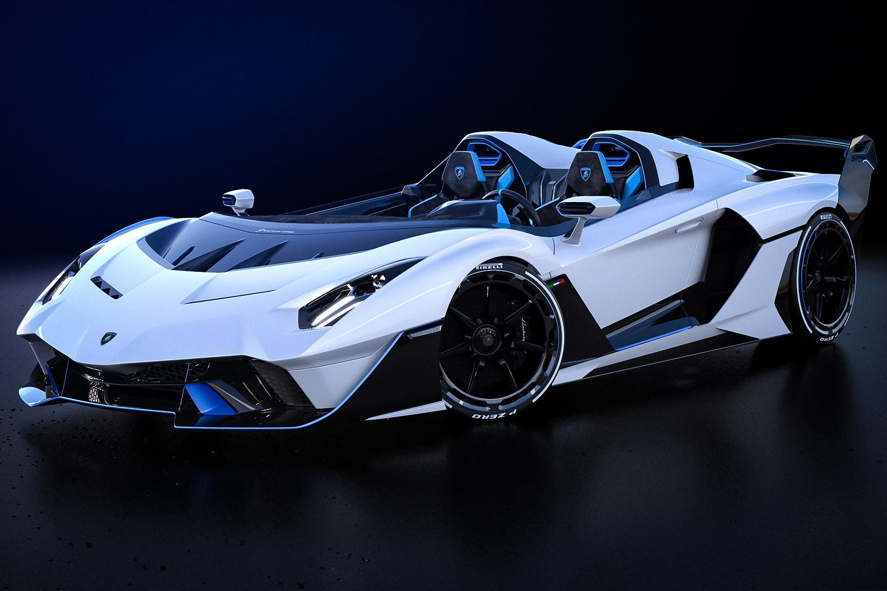 Lamborghini показала новый суперкар SC20