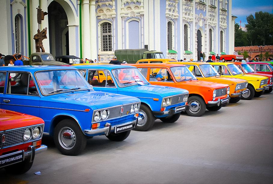 В России подсчитали автомобили из СССР