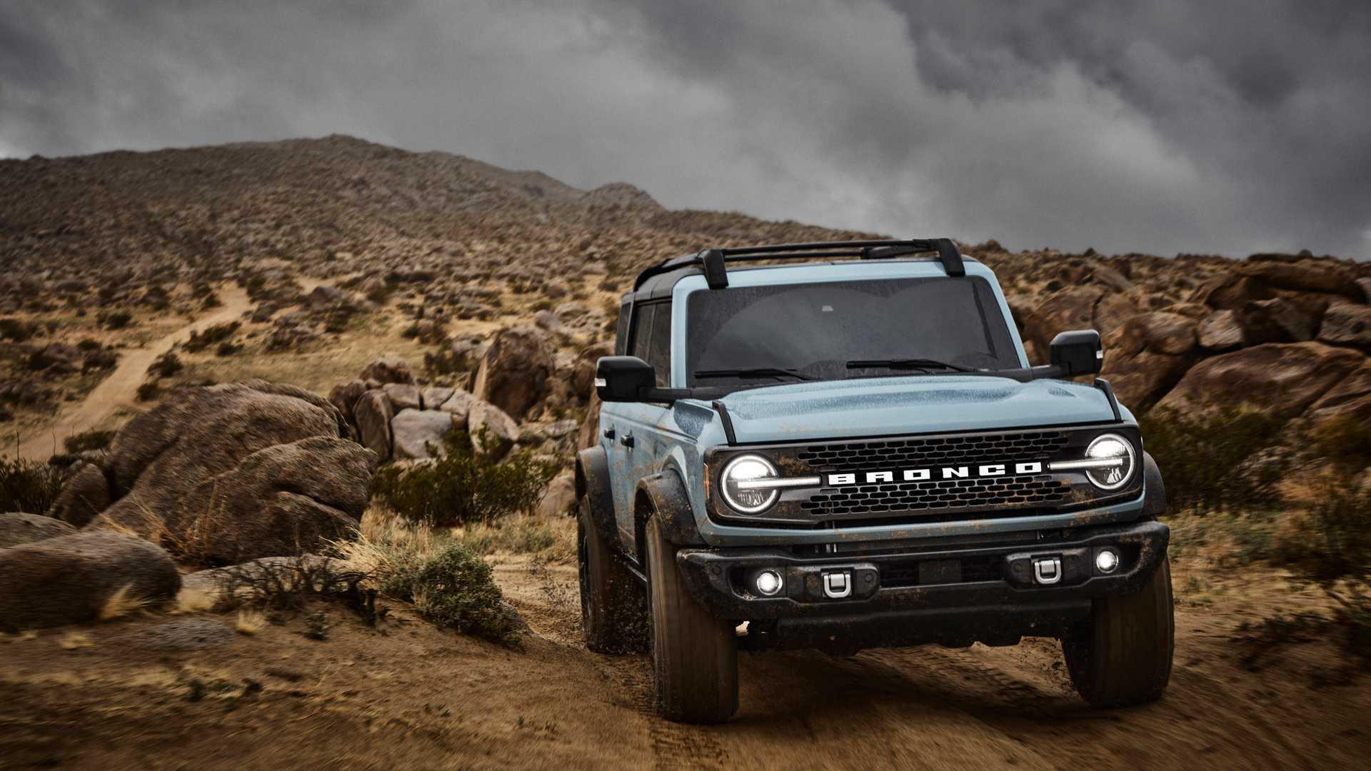 Стала известна дата начала производства нового Ford Bronco