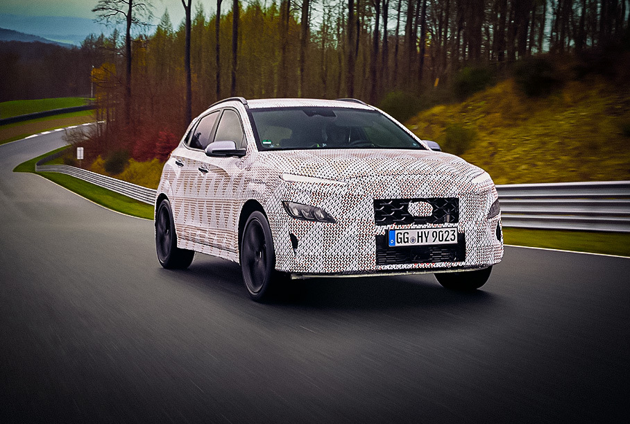 Hyundai рассказал о моторе «заряженной» Kona N