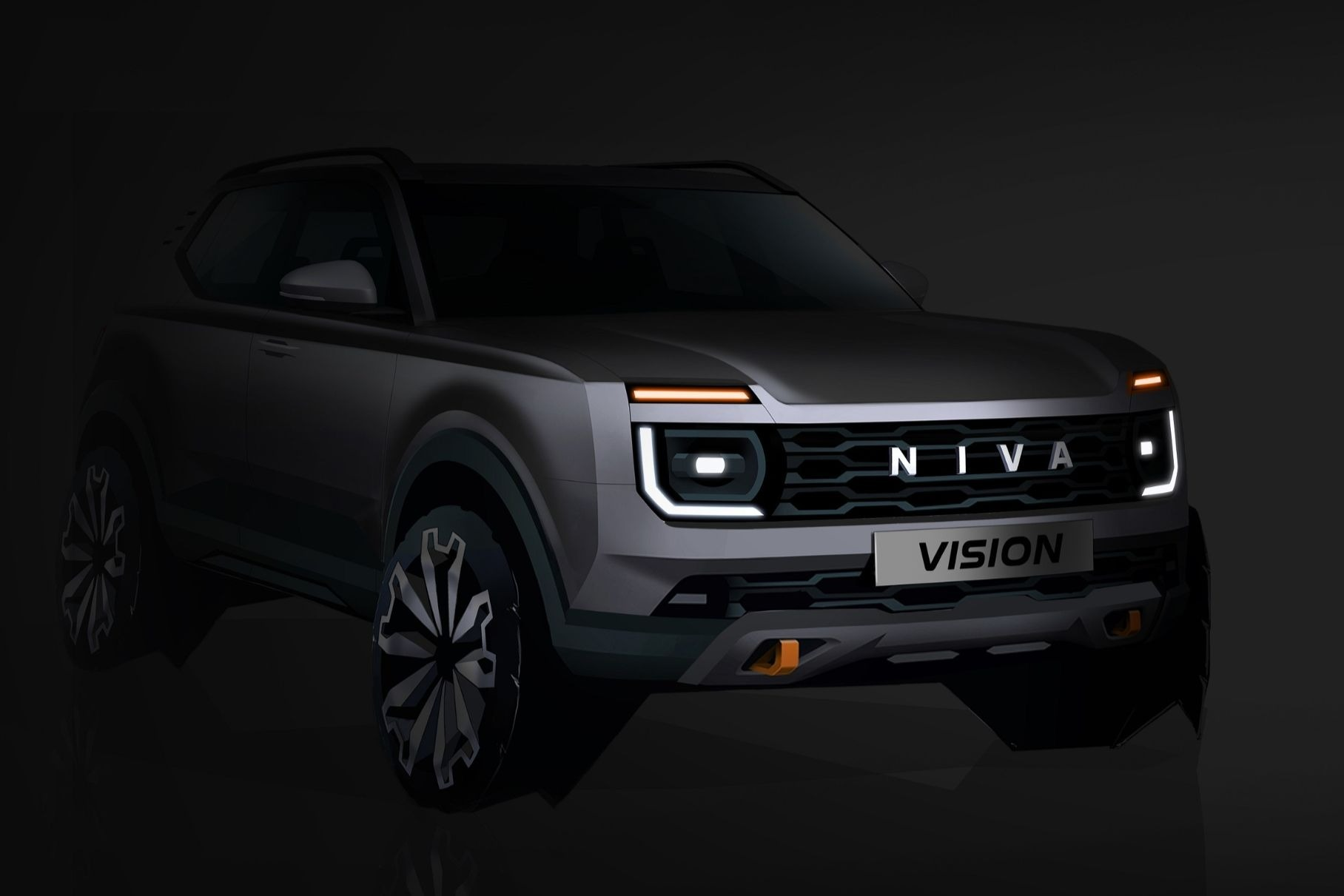 Lada Niva нового поколения: опубликовано первое изображение