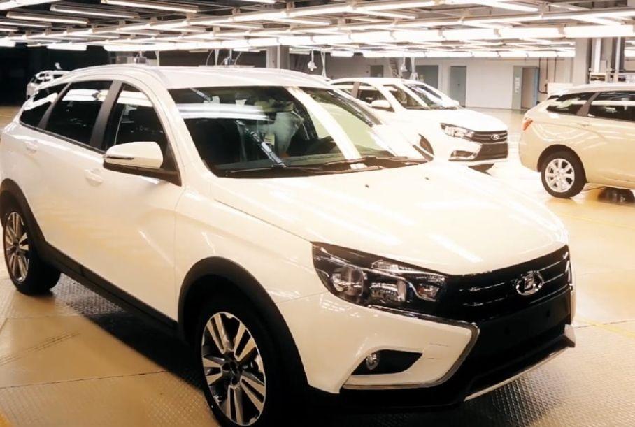 Собраны первые экземпляры Lada Vesta с «Яндекс.Авто»