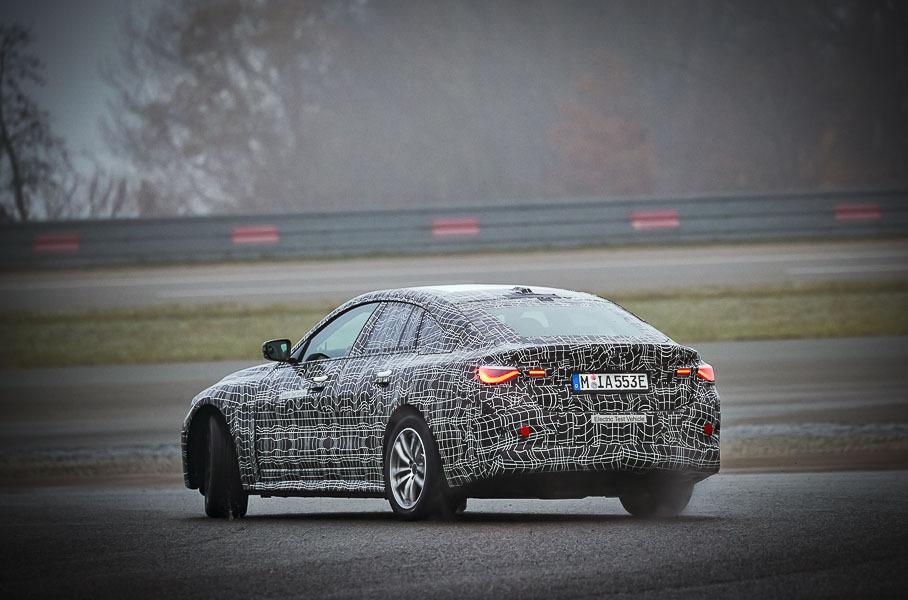 Электрокар BMW i4 вывели на финальные тесты