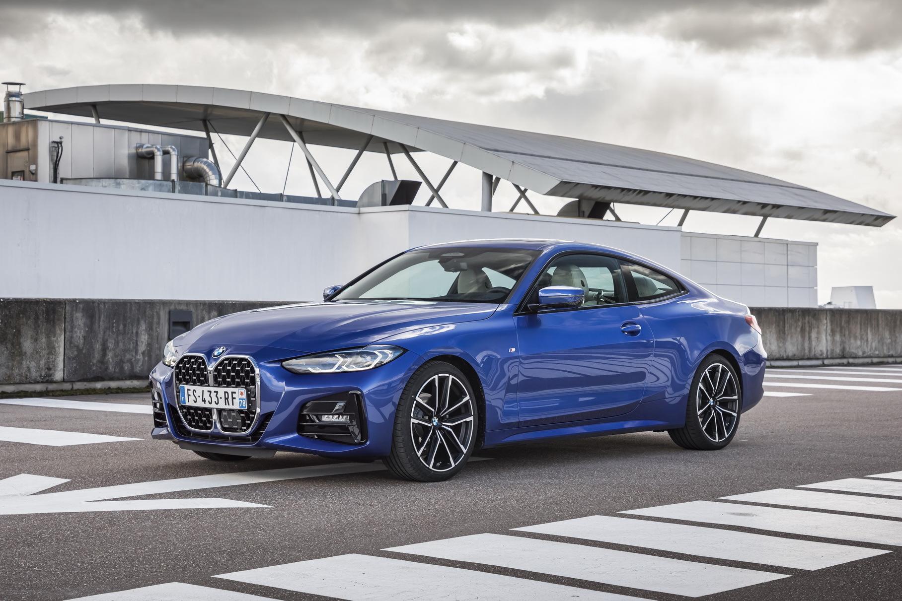У новой BMW 4-Series появились версии с турбодизелем 3.0