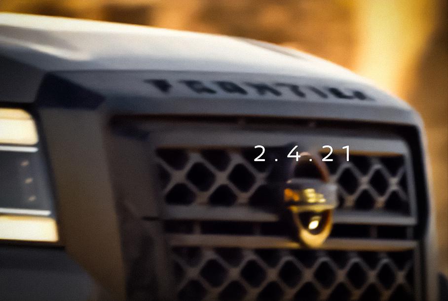 Nissan показал новый Frontier на видео