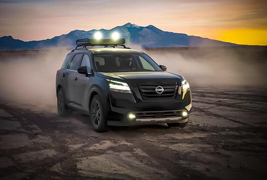 Nissan не будет производить новый Pathfinder в России