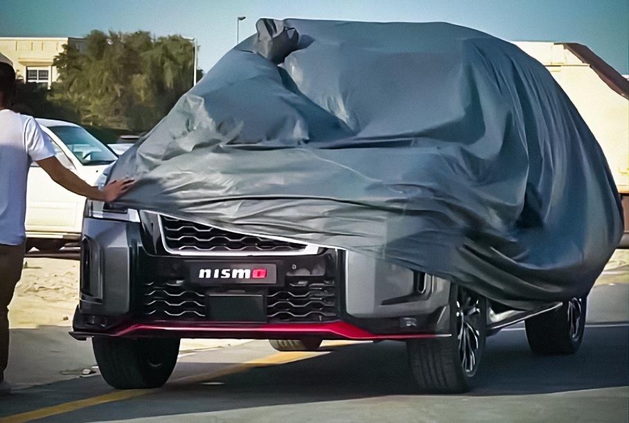 «Заряженный» Nissan Patrol показали на видео