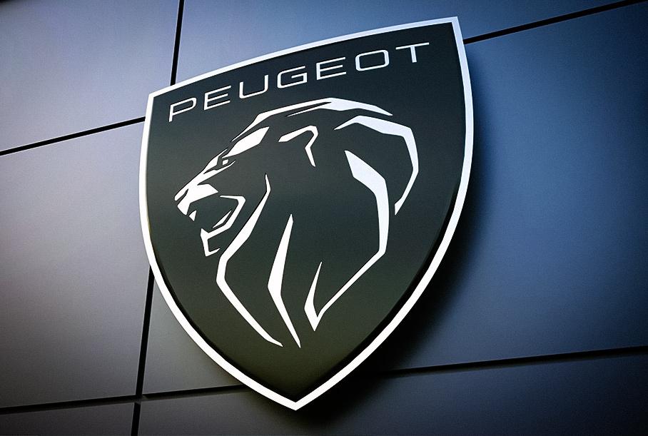 Peugeot радикально изменила логотип