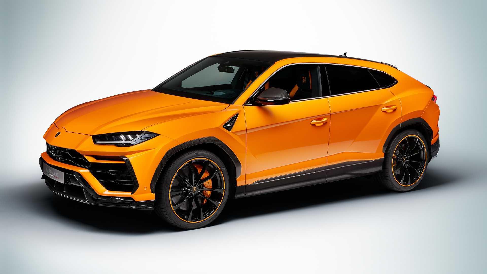 Гибридный Lamborghini Urus станет самой мощной моделью марки