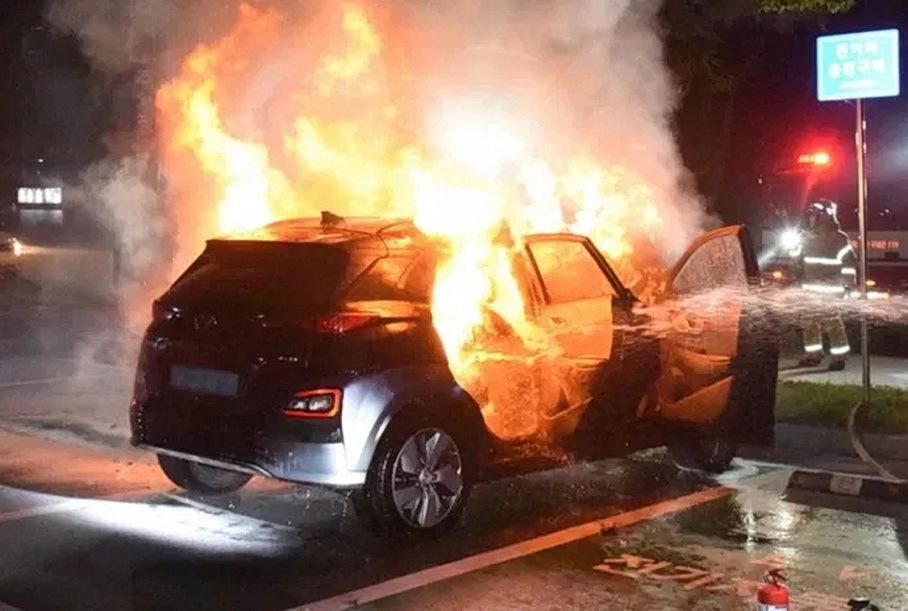 Hyundai назвал причину массового возгорания электрокаров