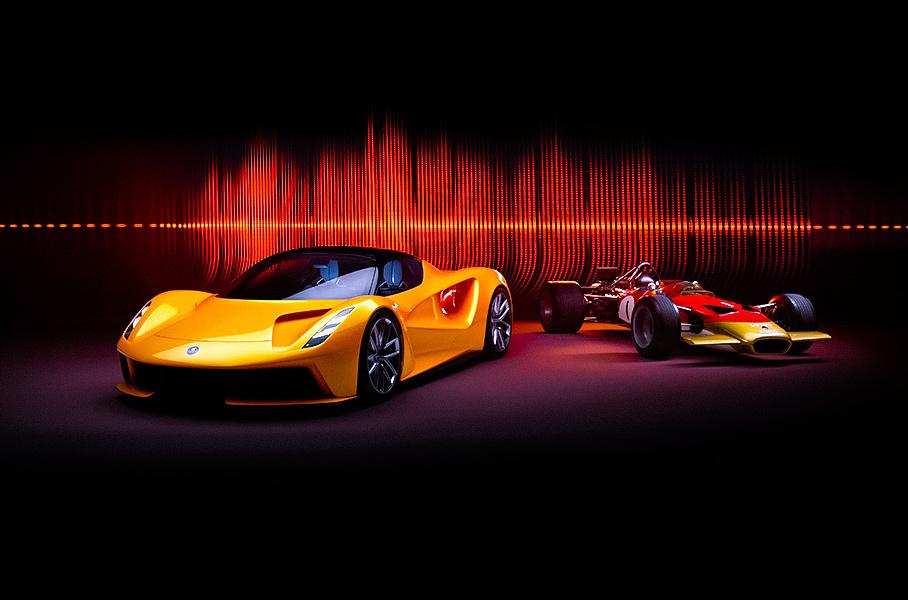 Электрический гиперкар Lotus Evija озвучили с помощью мотора V8